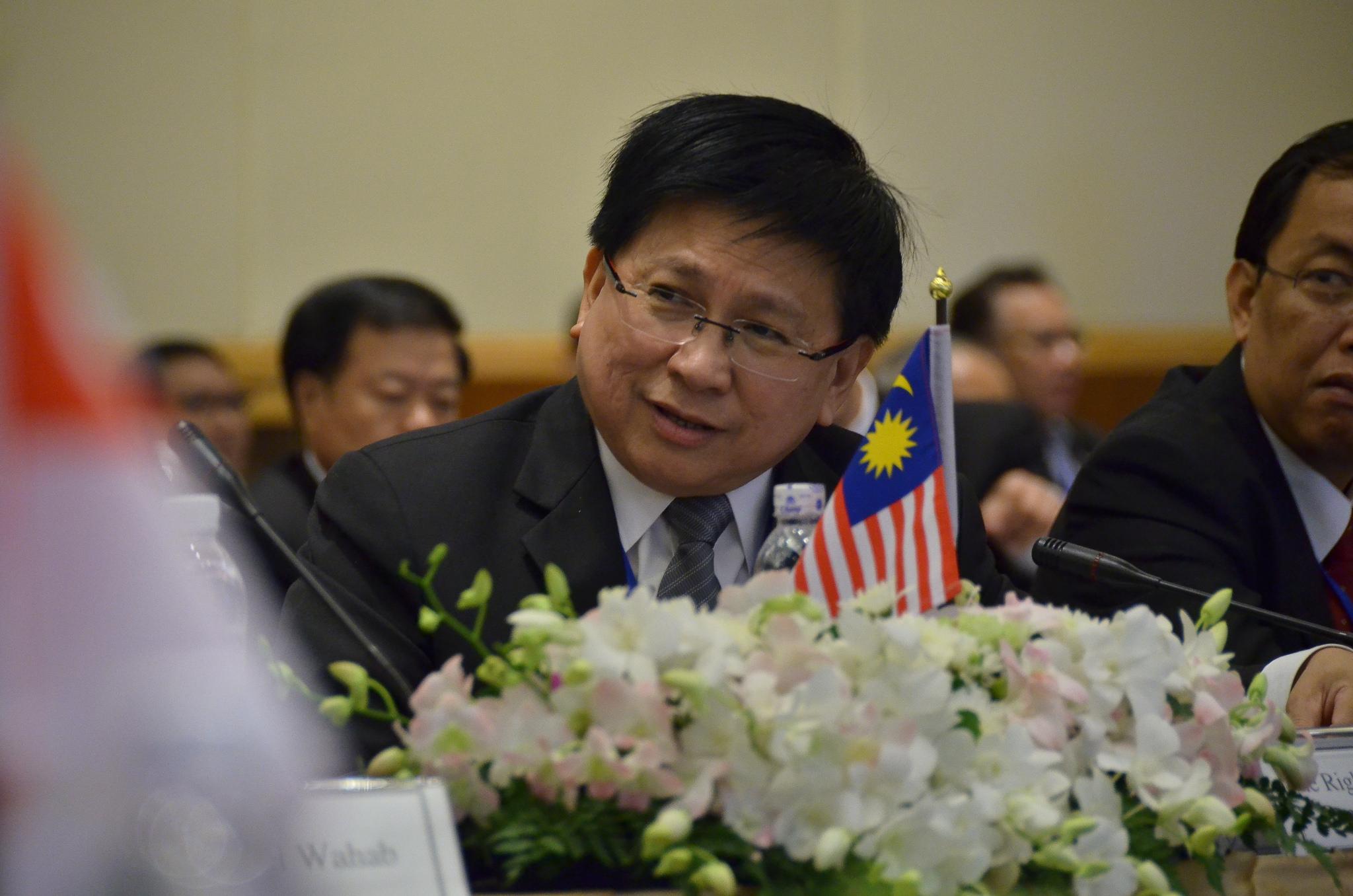 Photo of Justice Richard Malanjum Chief Judge