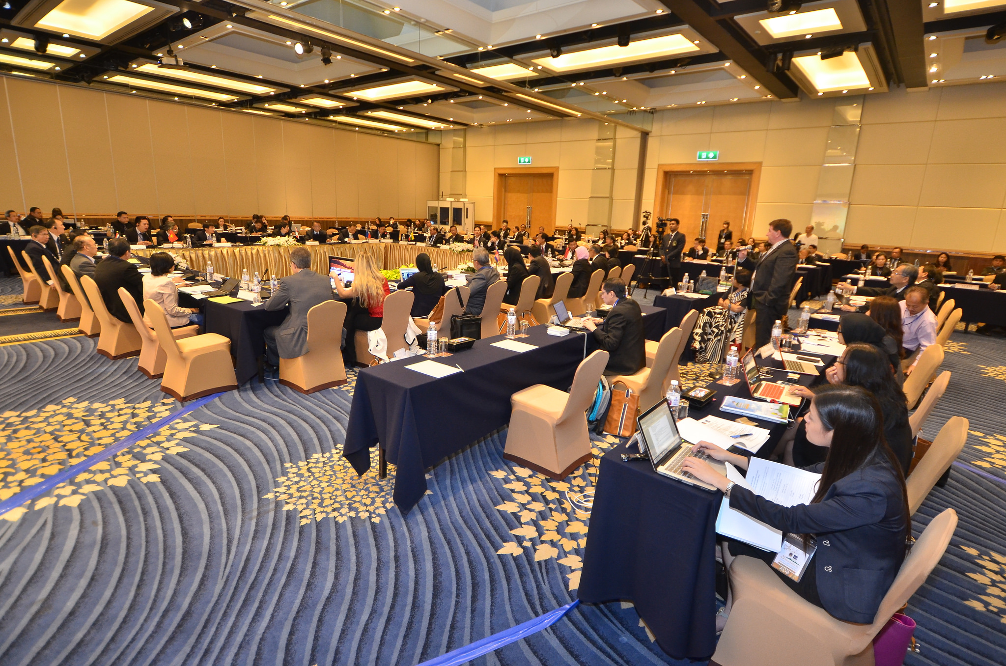 Photo of participants during the Third ASEAN Chief Justices Roundtable on Environment, held in Bangkok, Thailand, on 5 - 18 November 2013.