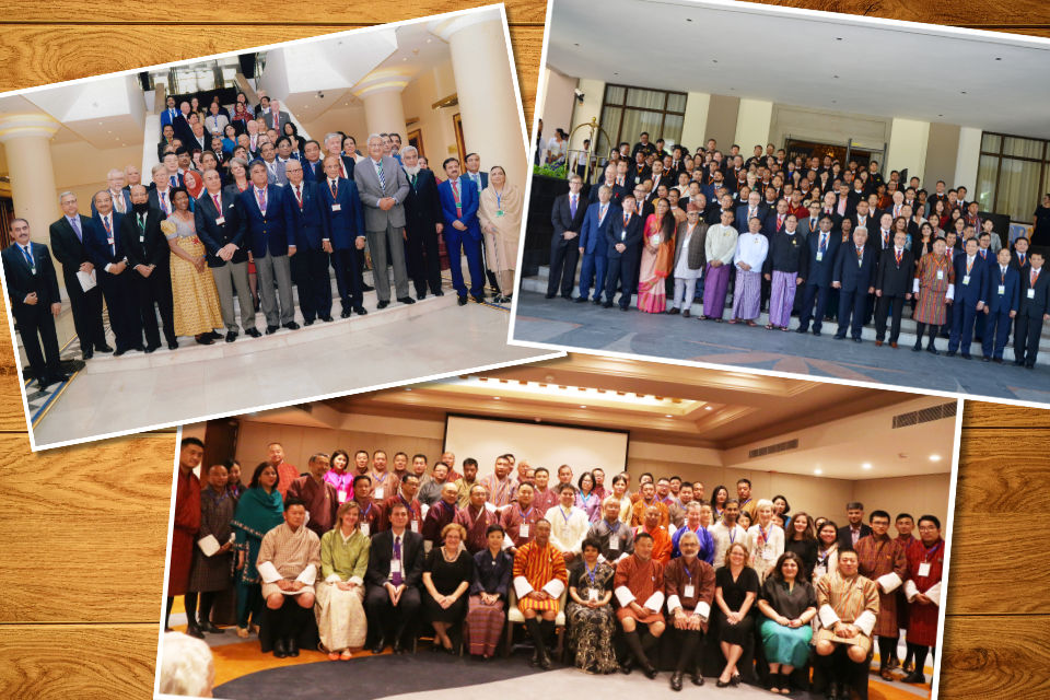Group photos from 2018 AJNE events