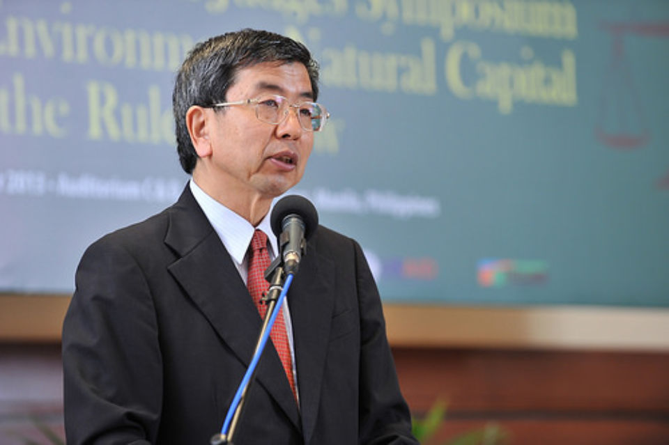 Welcome remarks by ADB President Takehiko Nakao at the Second Asian Judges Symposium on Environment: Natural Capital and the Rule of Law held in Manila, Philippines on 2 December 2013