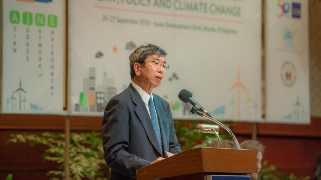 Mr. Nakao noted there had been more than 700 climate change litigation cases globally.