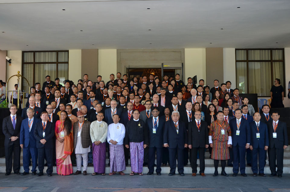 Group photo from the Asia Pacific Judicial Conference on Environmental and Climate Change Adjudication